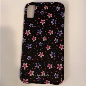 Case Mate Floral iPhone XS Max case